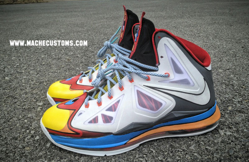6ec789f78fd ... best price nike lebron x stewie by mache custom kicks 1 b68ee 6d87e