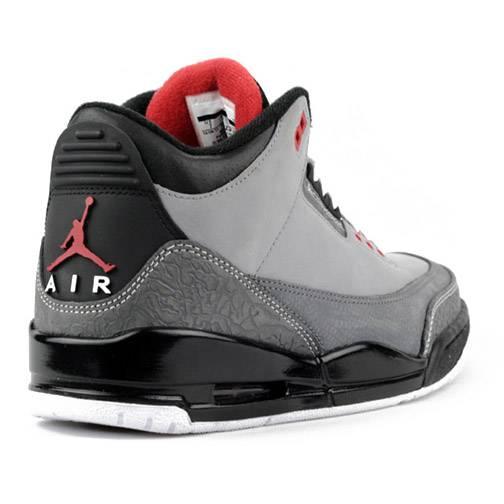 b8ecd6bd096cd6 ... Air Jordan Retro 3 Stealth Varsity Red Light Graphite Black 136064-003  ...