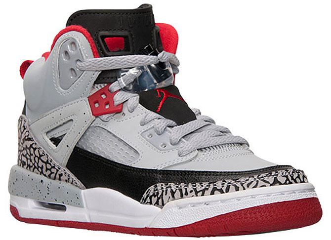 Jordan Spizike Wolf Grey/Gym Red Release Date 317321-013