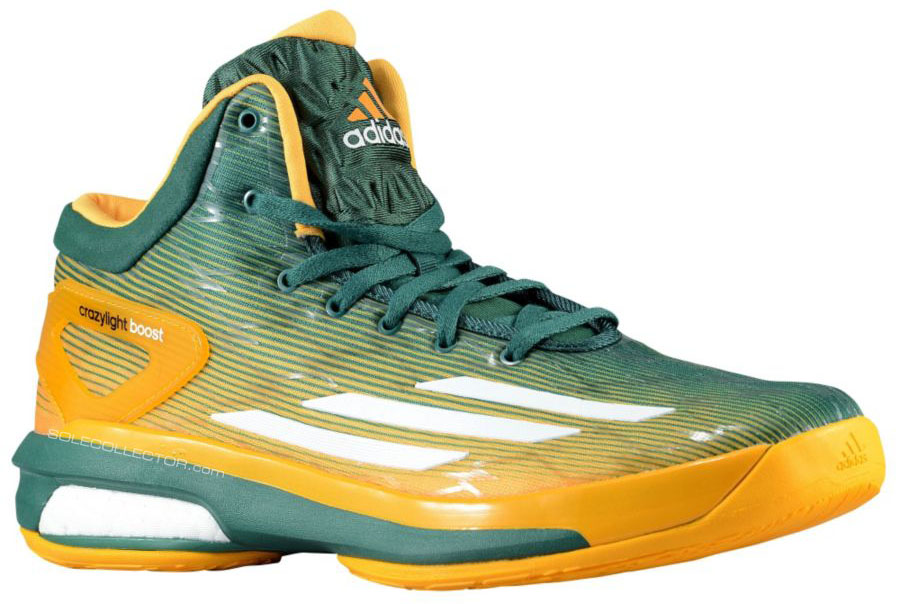adidas Crazylight Boost NCAA Baylor Bears