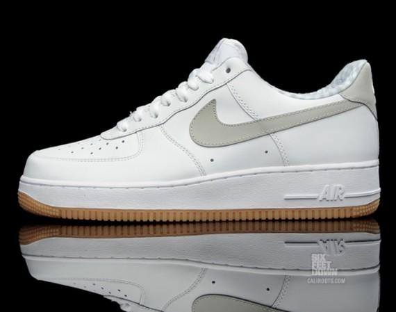 pretty nice 7005f d5f30 Nike Air Force 1 Low - White Tech Grey-Gingham-Gum