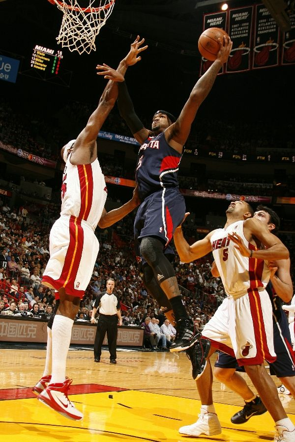 Josh Smith wearing the adidas adiZero Infiltrate