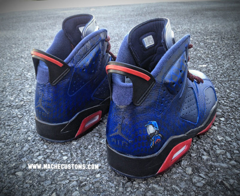 Air Jordan VI 6 Cobra Commander by Mache Custom Kicks (4)