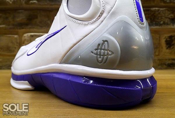 best loved 78067 16830 Nike Air Zoom Huarache 2K4 White Metallic Silver Pro Purple 511425-115 (7)