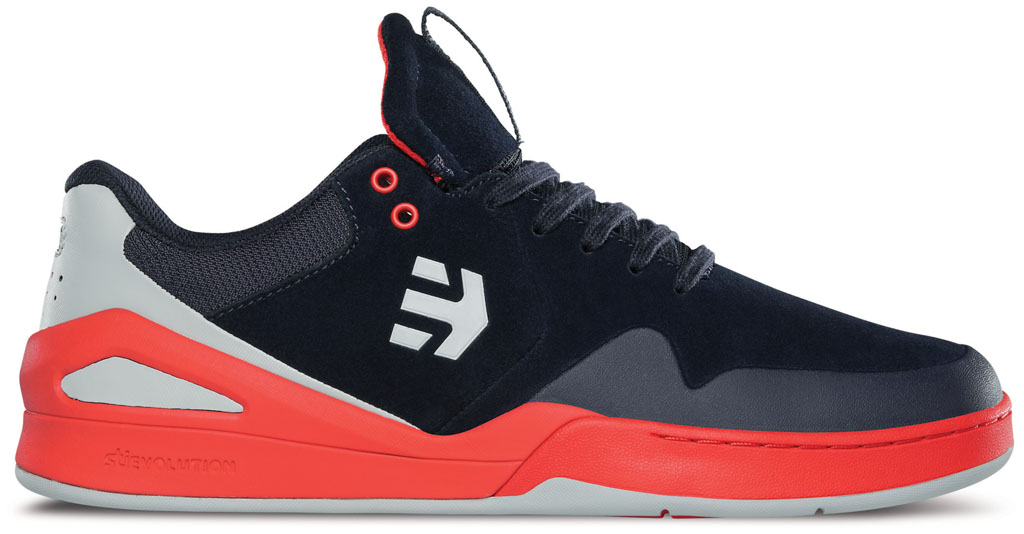 etnies Marana E-Elite Navy/Orange (1)