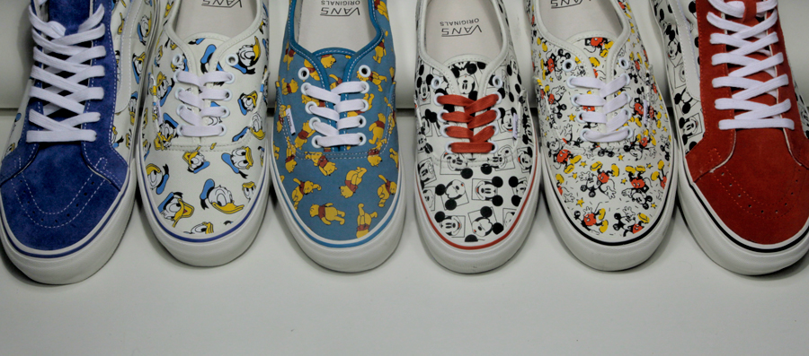 e79f222ed37e Spotlight    Vault by Vans x Disney OG Classics Collection
