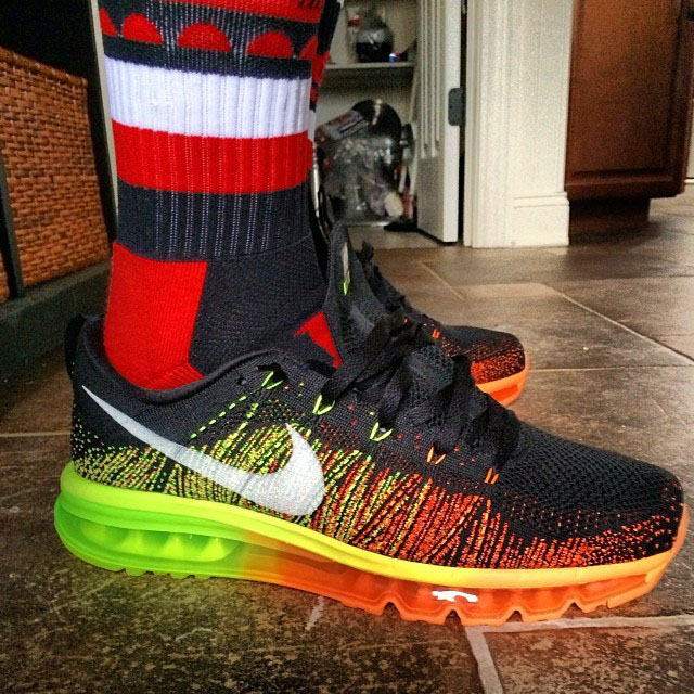 Joe Haden Picks Up Nike Flyknit Max