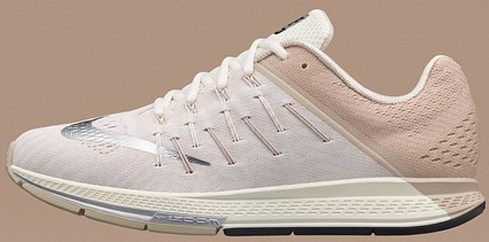 Nike Air Zoom Elite 8 White/Metallic Silver-Tan
