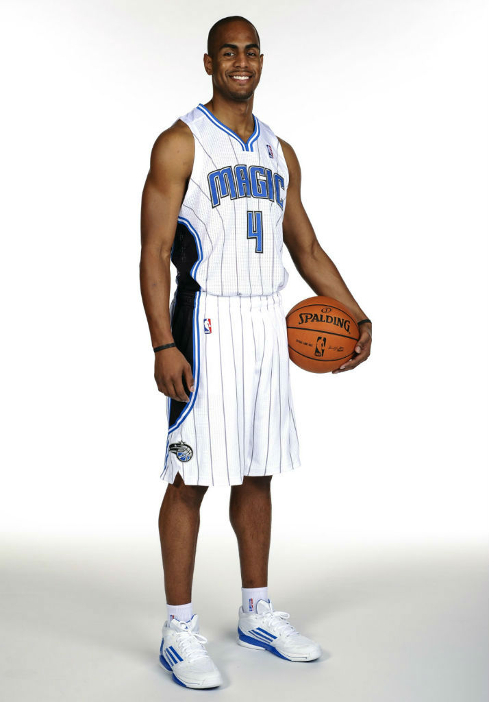 Aaron Afflalo wearing adidas adiZero Crazy Light 2 Low