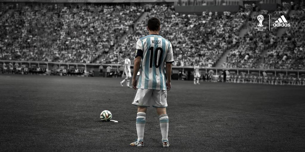 Leo Messi for adidas // FIFA 2014 World Cup