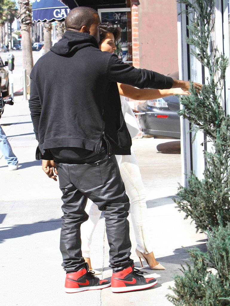Kanye West Wears The Air Jordan 1 Sole Collector