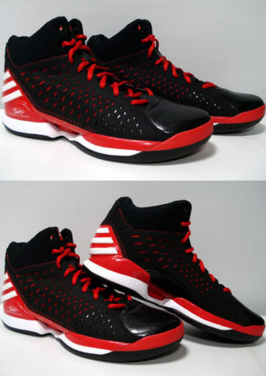 adidas Rose 773 Light Black Light Scarlet Running White G59732 (2)