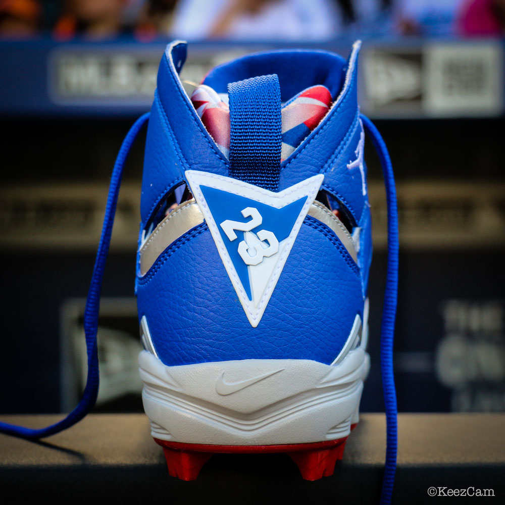 Air Jordan 7 Carl Crawford Dodgers PE Cleats (5)