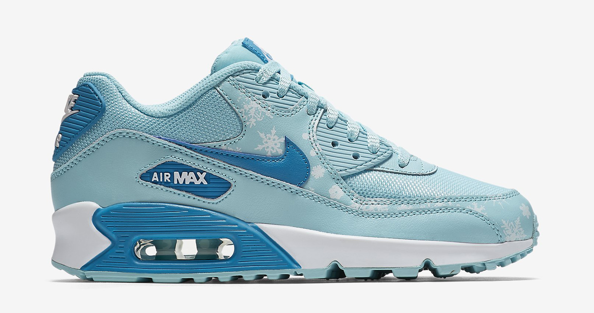 It's Snowing on the Nike Air Max 90