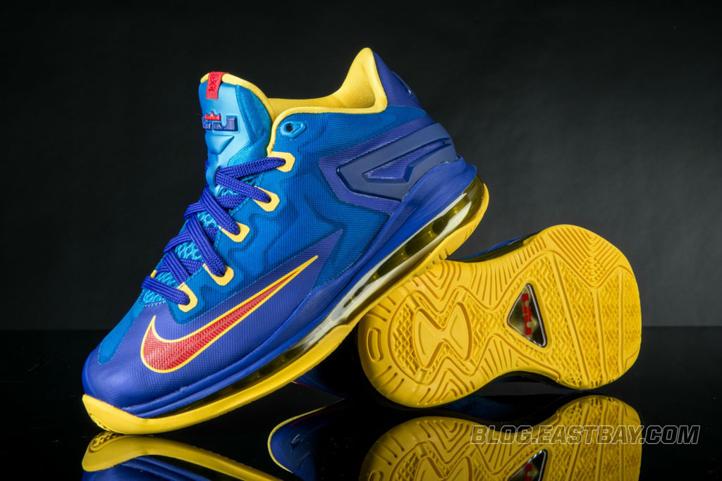 e479a741670 Nike LeBron 11 Low GS  Superman  Available at Eastbay