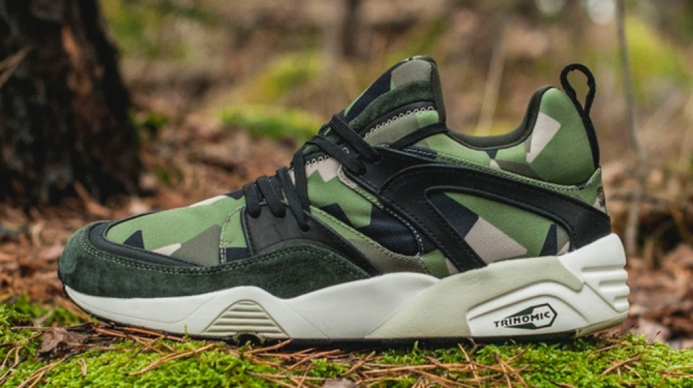 Puma Blaze of Glory x Sneakersnstuff 'Swedish Camo Pack'