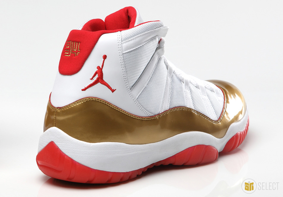low priced ac927 dcf9f Ray Allen Air Jordan 11 XI Two Rings Championship PE    Official Photos (9