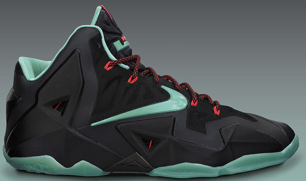 Nike LeBron 11 Black Green