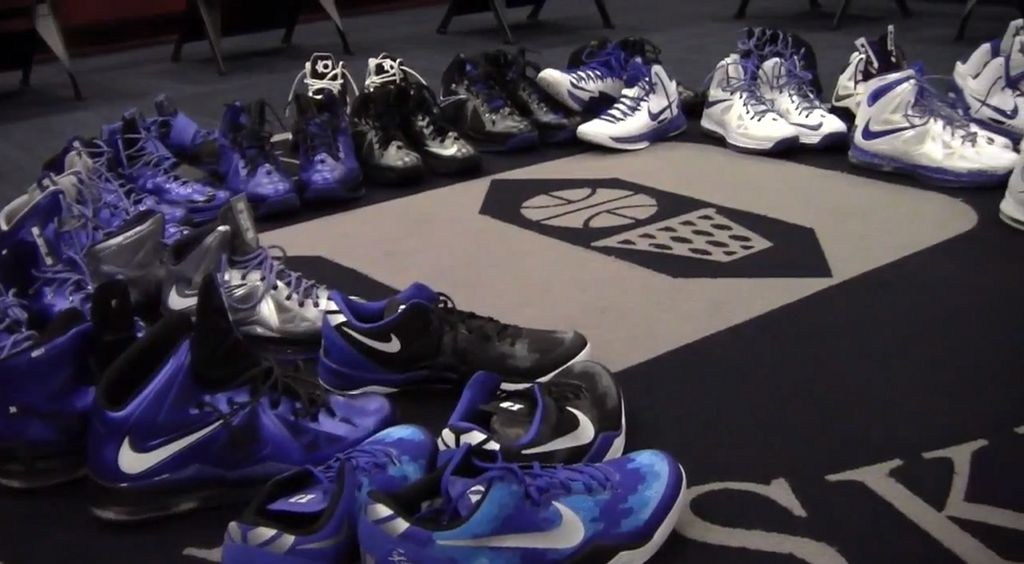 Duke Basketball's 2013 Nike Sneaker Lineup Video