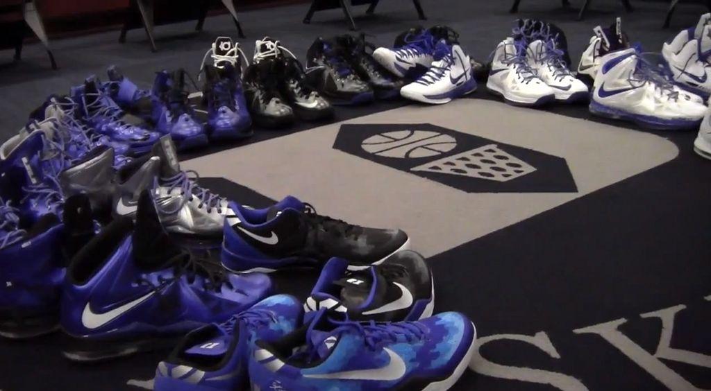 dd626be30cb6 Video    Duke Basketball s 2013 Nike Sneaker Lineup