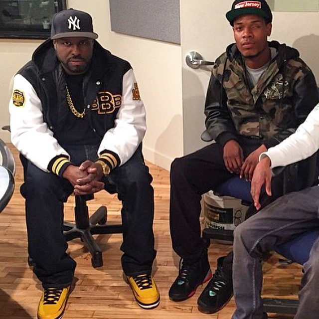 acfb4308c878 DJ Funk Flex wearing the  Candy Pack  Air Jordan 2  Fetty Wap wearing