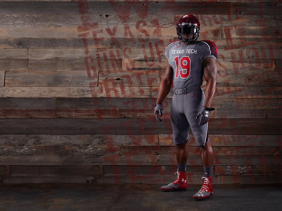 Under Armour Unveils 2013 Texas Tech Lone Survivor Uniforms (1)