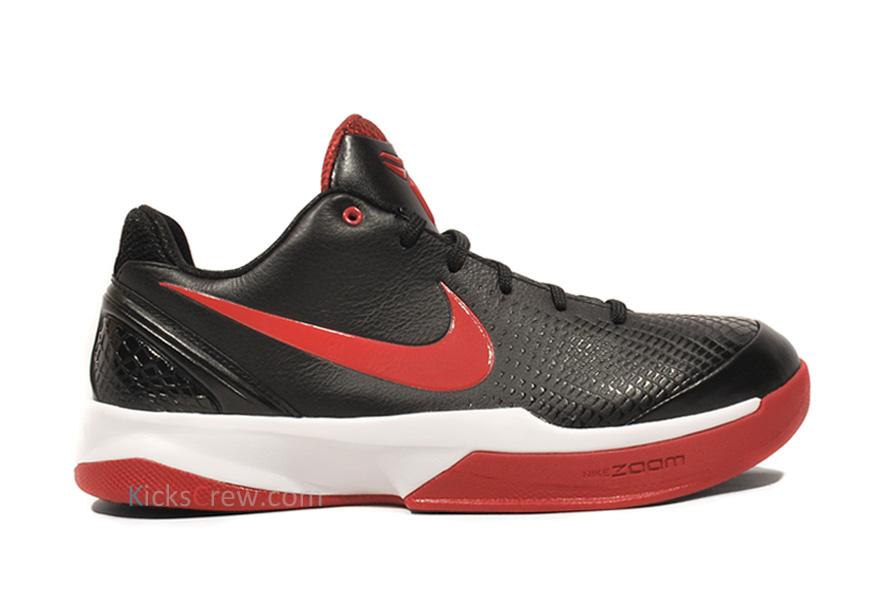 af03e9a75b56 Nike Zoom Kobe VI Venomenon Black Varsity Red White 429653-001