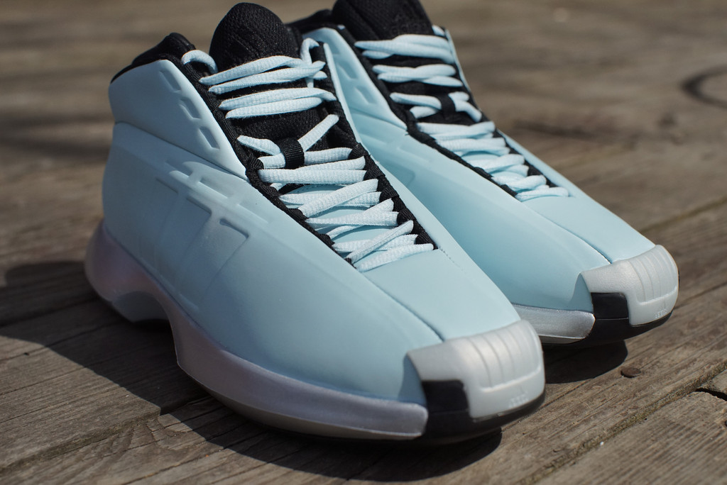 e5d245e6df0c adidas Crazy 1 Retro Returns In Classic  Ice Blue  Sample Colorway ...