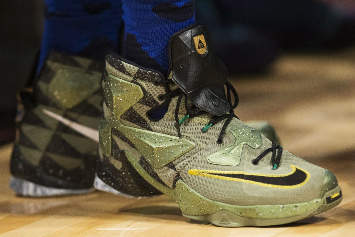 LeBron James Wearing the 'All-Star' Nike LeBron 13 (2)