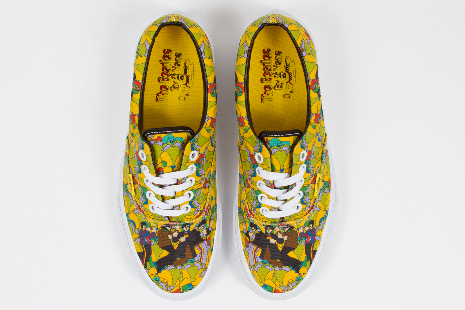 b6f63b2c0b The Beatles x Vans Yellow Submarine Capsule Collection releases March 1