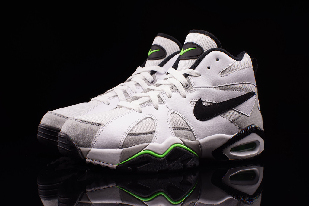 Nike Air Diamond Fury White Black-Voltage Green 724971-101 (1) c1830031a