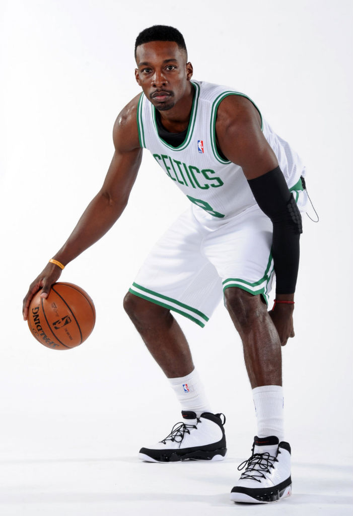 Jeff Green wearing Air Jordan IX 9 Retro