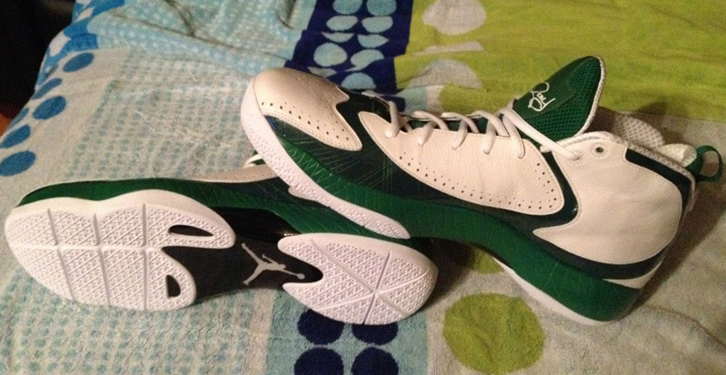 Air Jordan 2012 Ray Allen Home PE (2)