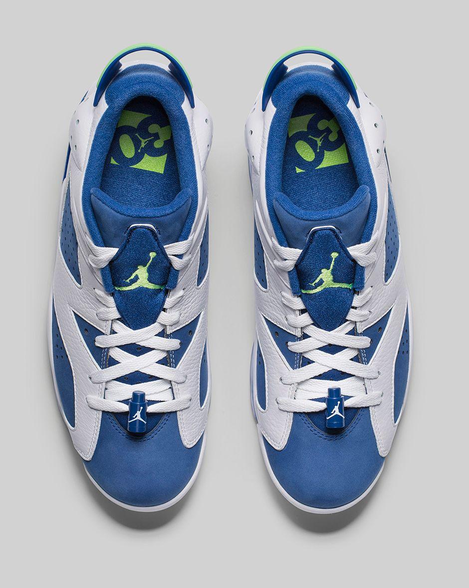 11fbaac1b62729 The  Insignia Blue  Air Jordan 6 Low Release Draws Near