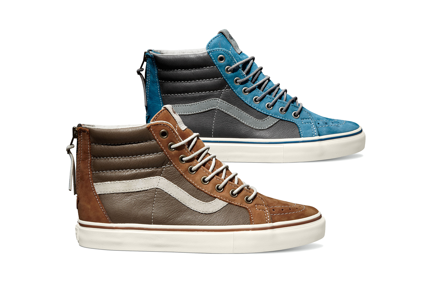 e817dd05fbdf11 The Sk8-Hi Reissue Zip LX Spring 2014 collection is available now from Vans  Vault stockists.