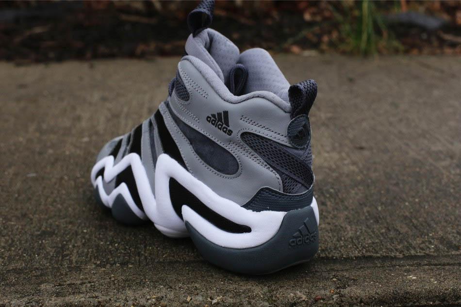 hot sale online cfece e4e27 adidas Crazy 8  Grey Black White