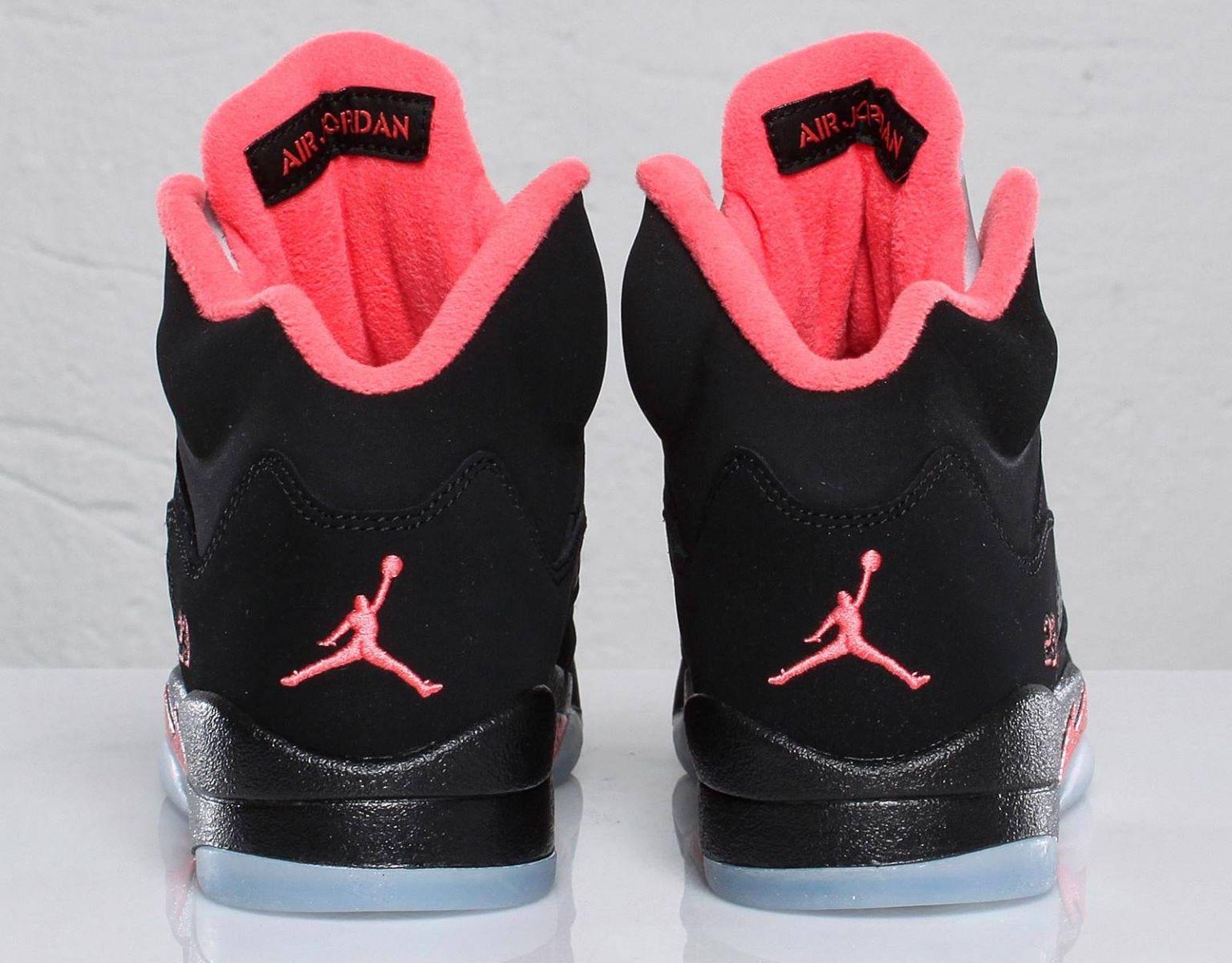 air jordan retro 5 pink red