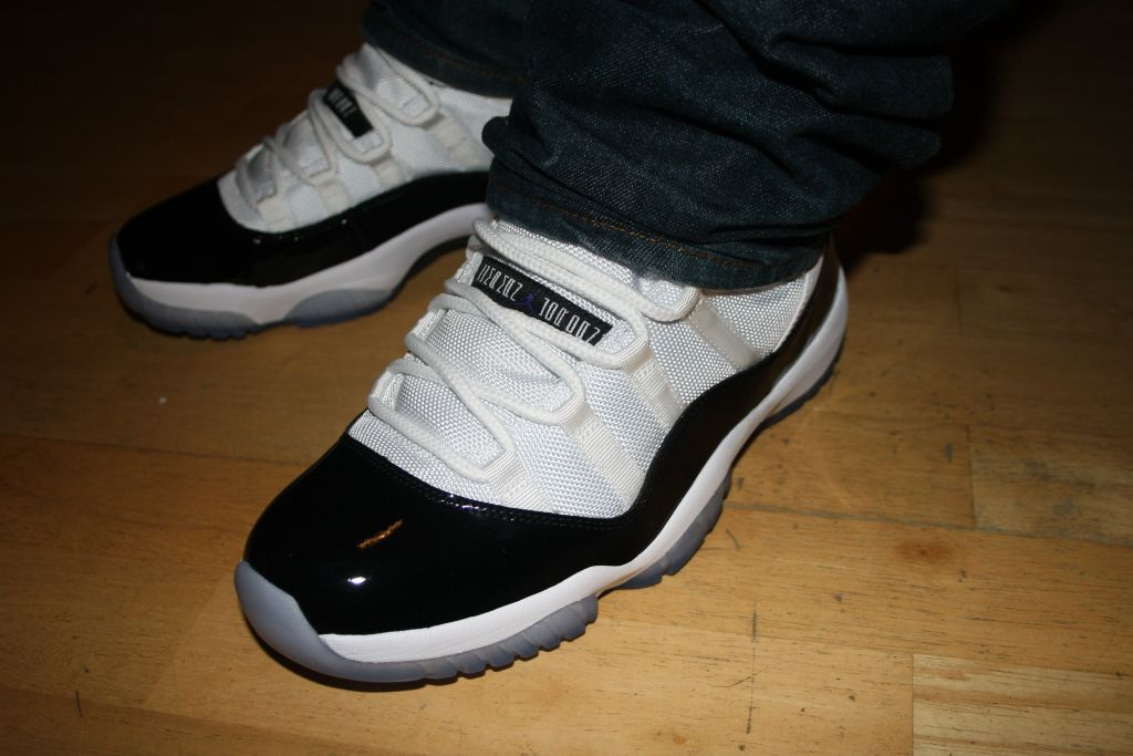 outlet store f2bc2 5390b Release Recap: Air Jordan Retro 11 - 'Concord' | Sole Collector