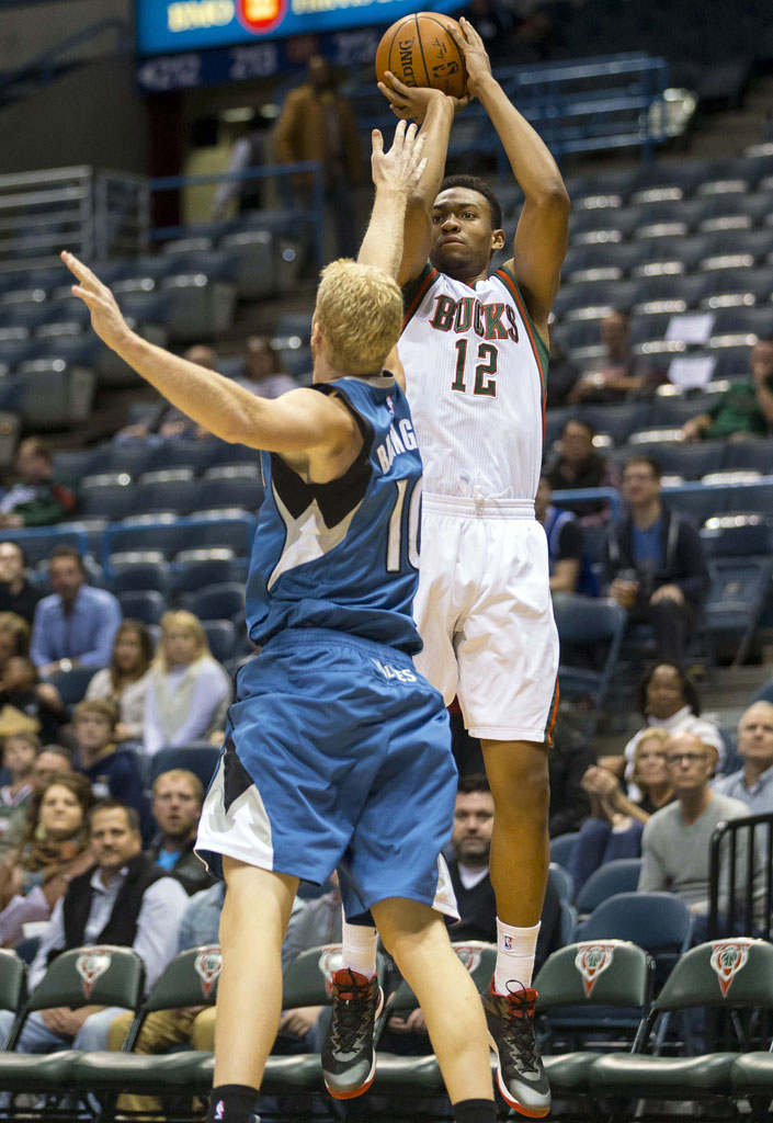 Jabari Parker wearing 'Slam Dunk' Jordan Super.Fly 3 (1)