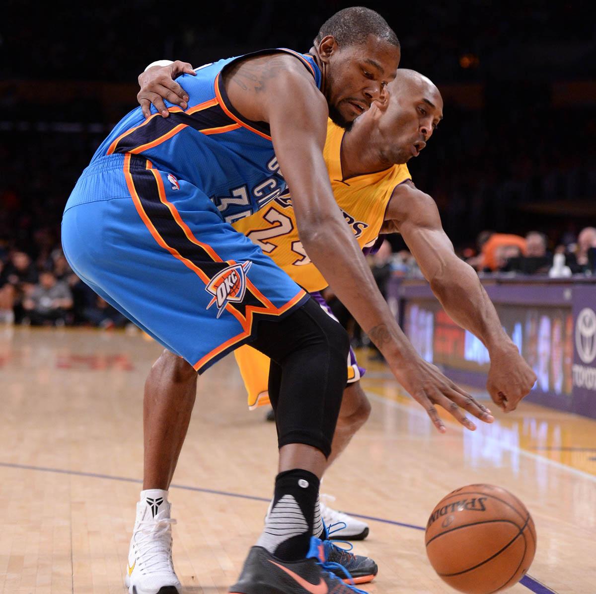 Kobe Bryant Gave Kevin Durant His