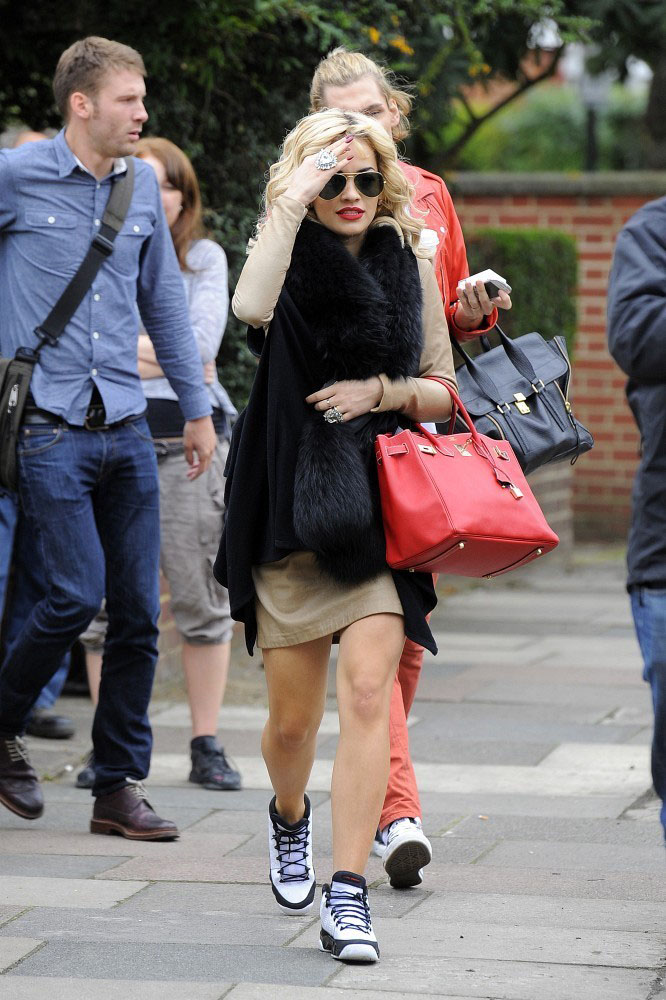 rita ora wears air jordan 9 sole collector