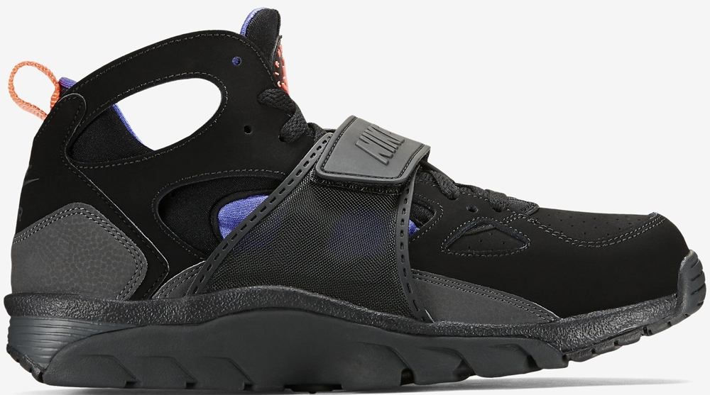 Nike Air Trainer Huarache Black/Persian Violet-Hot Lava-Anthracite