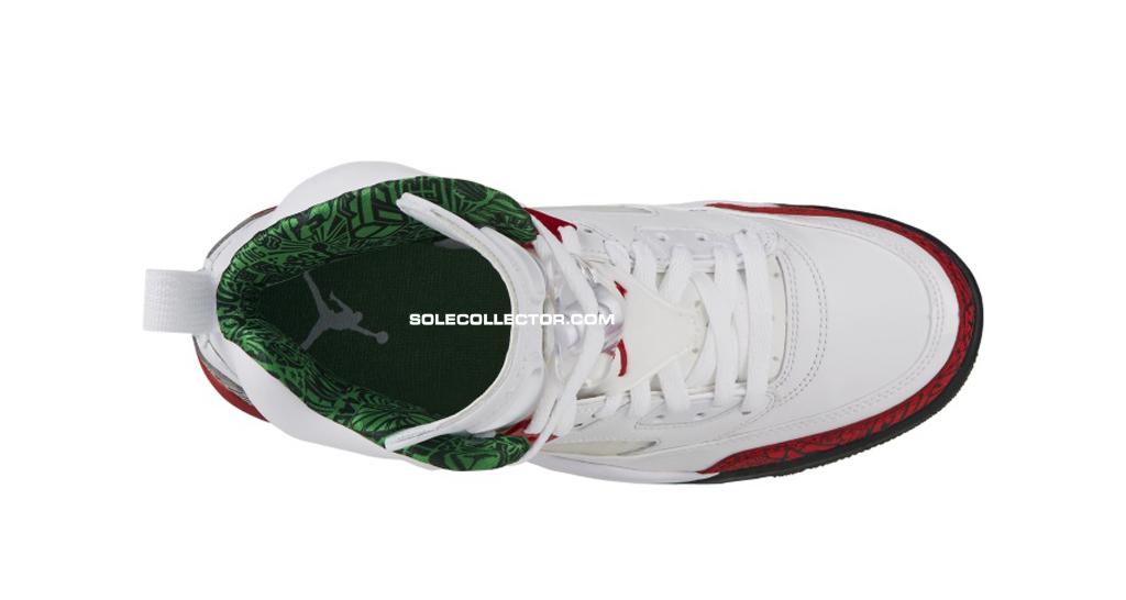 separation shoes 00135 97792 Release Date  Jordan Spiz ike  OG  White Varsity Red-Classic Green