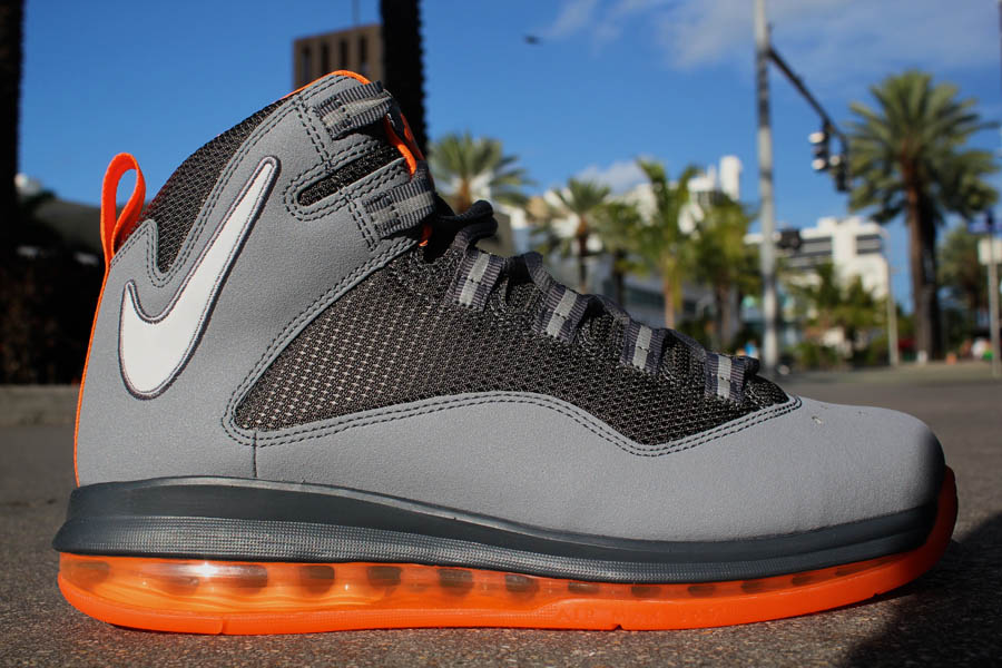 timeless design 6bbbd d0db9 Nike Air Max Darwin 360 Stealth White Dark Grey Total Orange 511492-018 (1