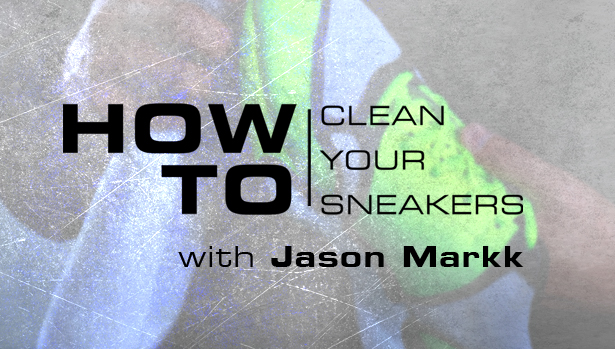 How to clean nubuck and suede sneakers with Jason Markk