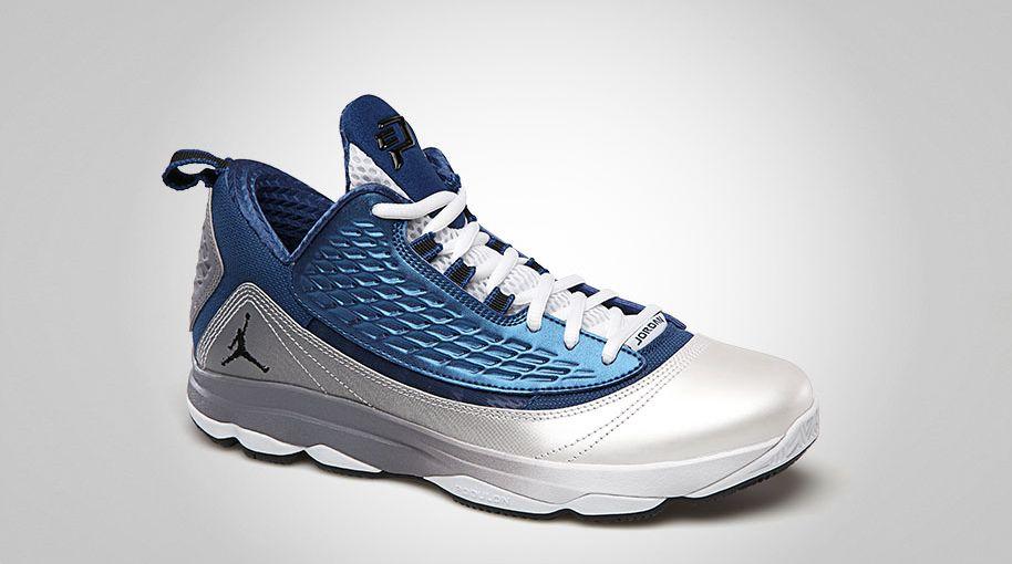 6f490f0b3e2c Jordan CP3.VI AE True Blue Black White Cement Grey 580580-403 (2