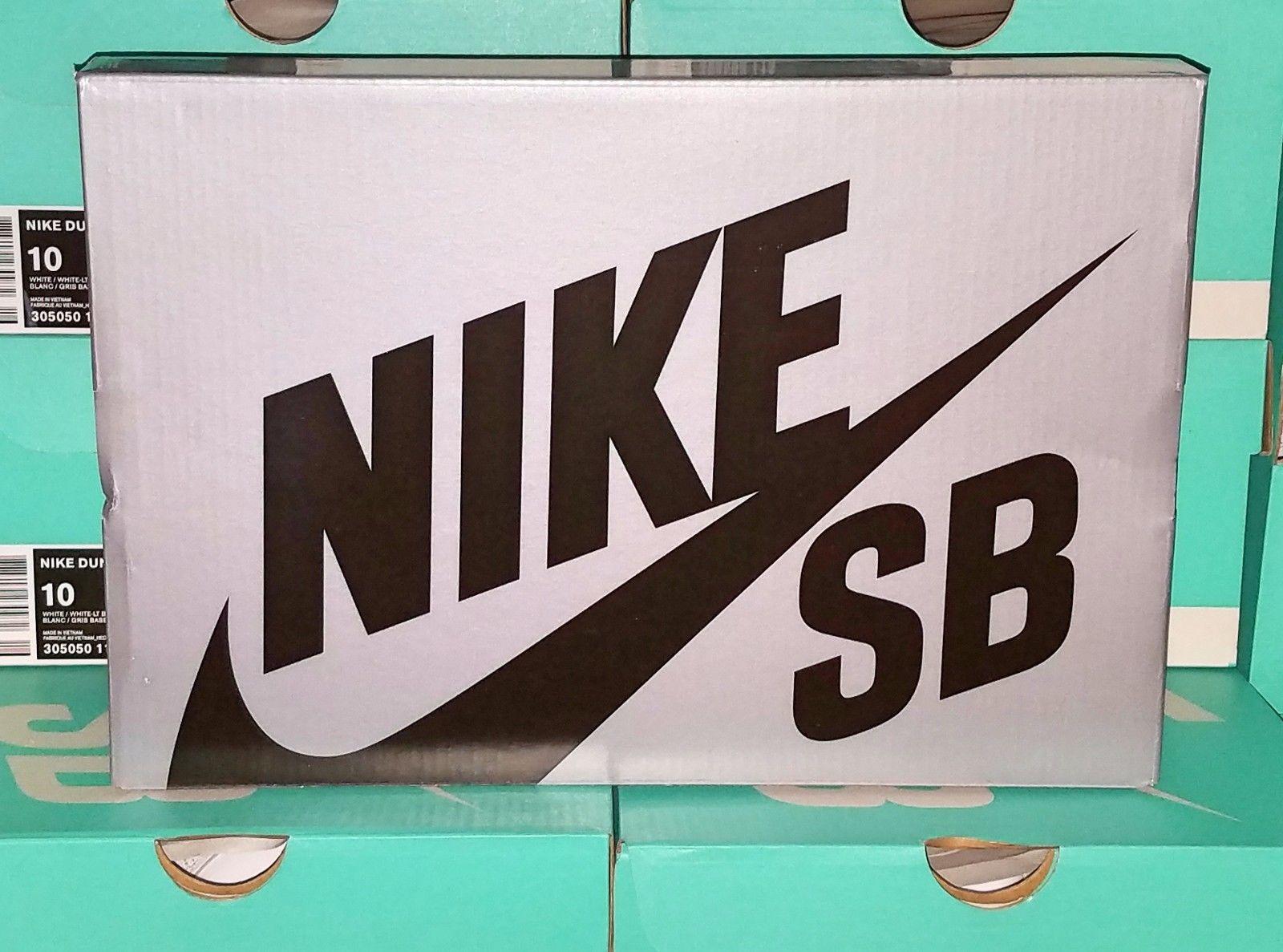 Nike SB Dunk Silver Box