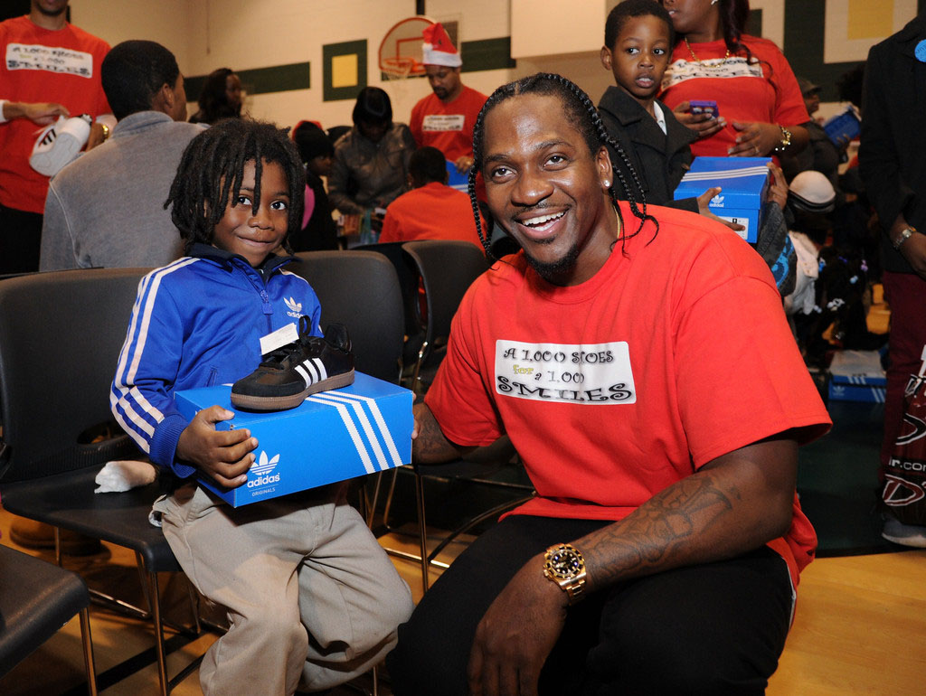 adidas Sponsors Pusha T 1000 Shoes for a 1000 Smiles Event (4)
