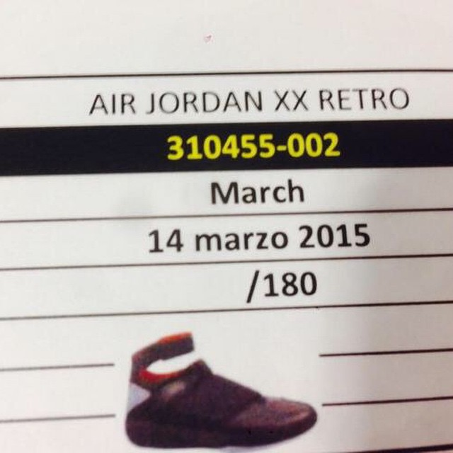 33cfe8a26f972d Is the Air Jordan XX  Stealth  Returning in 2015