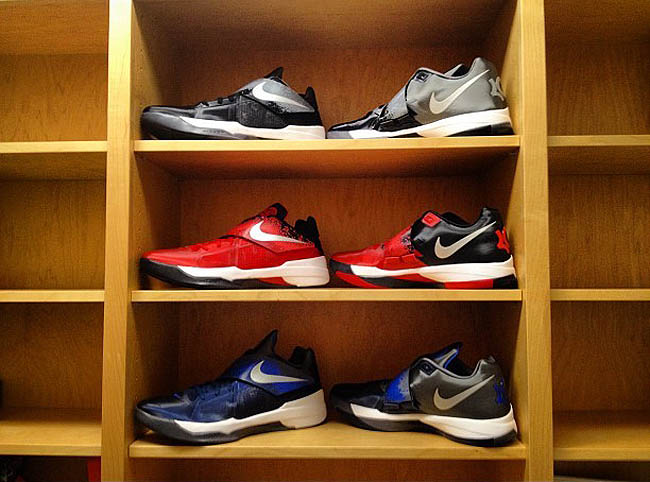 best sneakers eaaff bc19e Nike Zoom KD IV - Elite Youth Basketball League Pack (3)